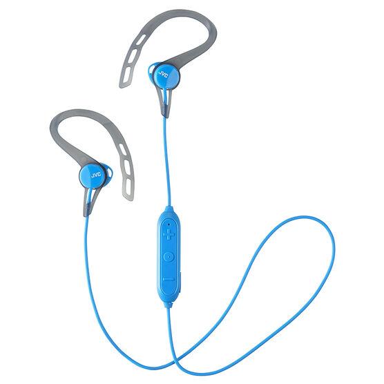 jvc sport wireless bluetooth headphones blue haec20bta london drugs. Black Bedroom Furniture Sets. Home Design Ideas