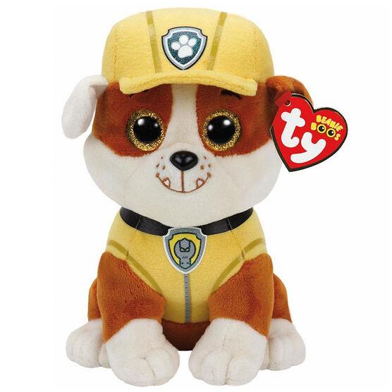 TY Paw Patrol Beanie Boos - Bulldog Rubble