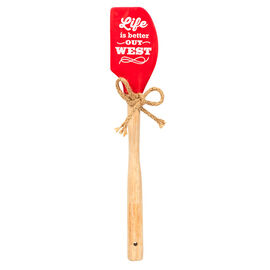 Better Out West Spatula - Red