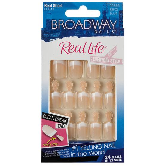 Broadway Nails Real Life French Nails - Sensible
