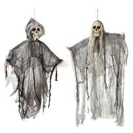 Danson Hanging Animated Skeleton - Assorted - 35.4in