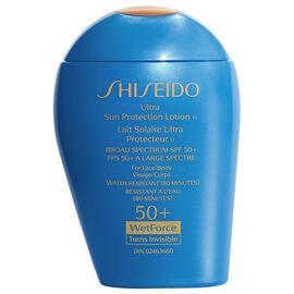 Shiseido Ultra Sun Protection Lotion TI Broad Spectrum SPF50+ WetForce - 100ml
