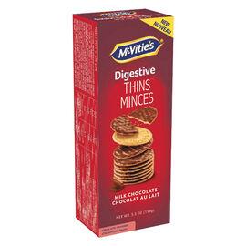 McVities Digestive Thins - Milk Chocolate - 148g