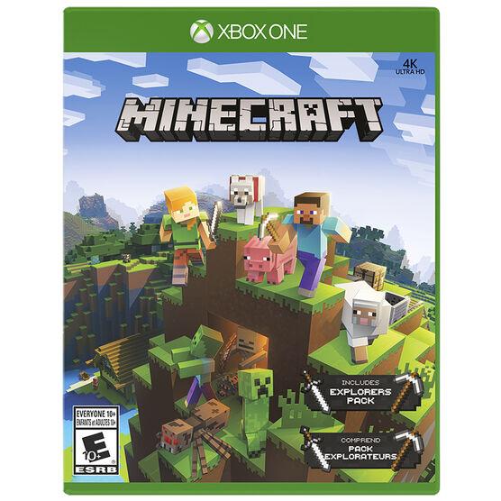 Xbox One Minecraft Explorers Pack