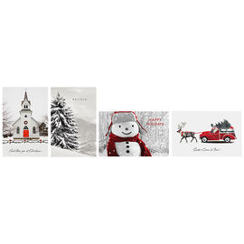 A Greetings Deluxe Greeting Cards - Black & White - 14 Cards
