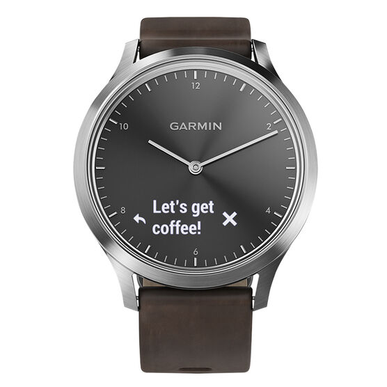 Garmin Vivomove HR Premium - Black/Silver - 100185004