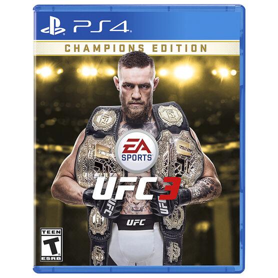PS4 EA Sports - UFC 3: Champions Edition