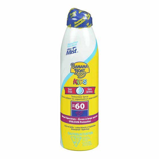 Banana Boat Ultra Mist for Kids - SPF 60 - 180ml