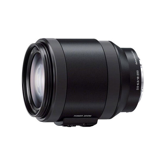 Sony NEX 18-200mm f/3.5-6.3 Telephoto Lens - SELP18200