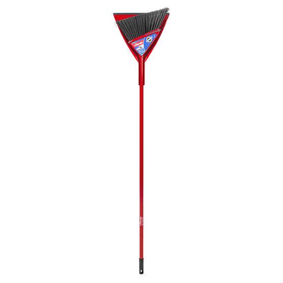 Vileda Oskar Angle Broom with Bonus Dust Pan