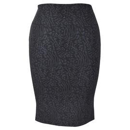 Lava Pencil Skirt - Black
