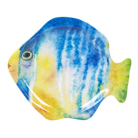 London Drugs Melamine Plate - Fish - 8in