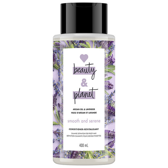 Love Beauty And Planet Smooth & Serene Conditioner - Argan Oil & Lavender - 400ml