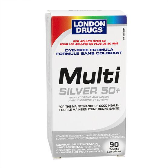 London Drugs Multi Silver 50 plus Multivitamin and Minerals -  90's