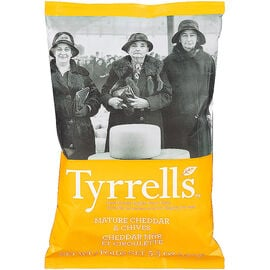 Tyrrell's Chips - Cheddar and Chives - 150g