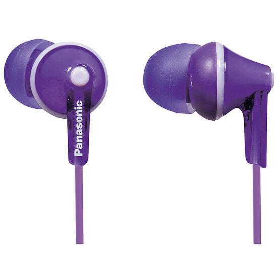 Panasonic Ergo Fit Ear Buds - Purple - RPHJE125V