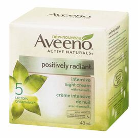 Aveeno Active Naturals Positively Radiant Intensive Night Cream - 48ml