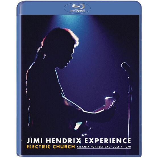 Jimi Hendrix Experience: Electric Church - Blu-ray