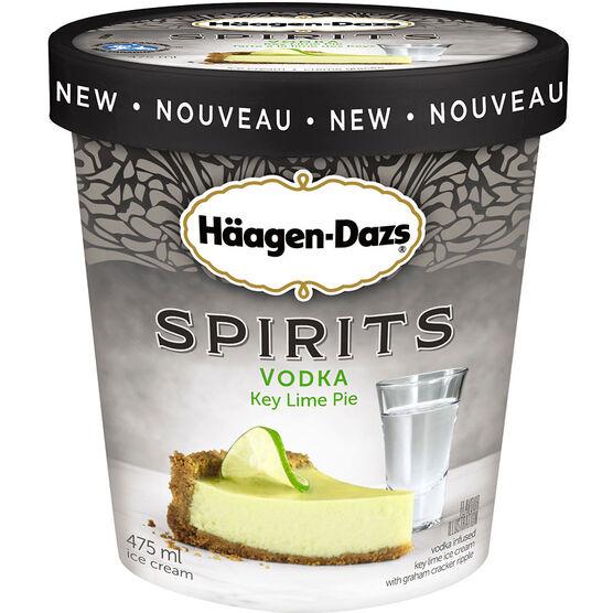 Haagen Dazs Spirits - Vodka Key Lime Pie - 475ml