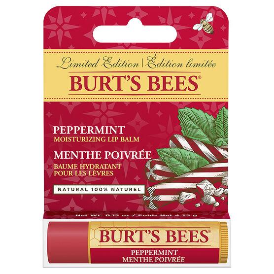 Burt's Bees Moisturizing Lip Balm - Peppermint - 4.25g