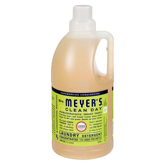 Mrs. Meyer's Laundry Detergent - Lemon Verbena - 1.8L
