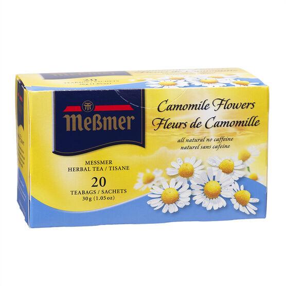 Messmer Tea - Camomile Flowers - 20's
