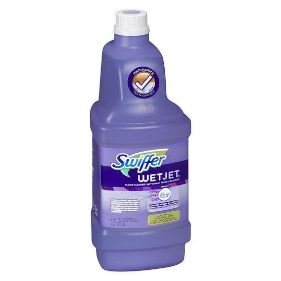 Swiffer Wet Jet Solution Lavender & Vanilla - 1.25L