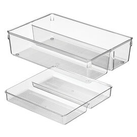 InterDesign Storage - 8 x 12 x 3in - 2 piece