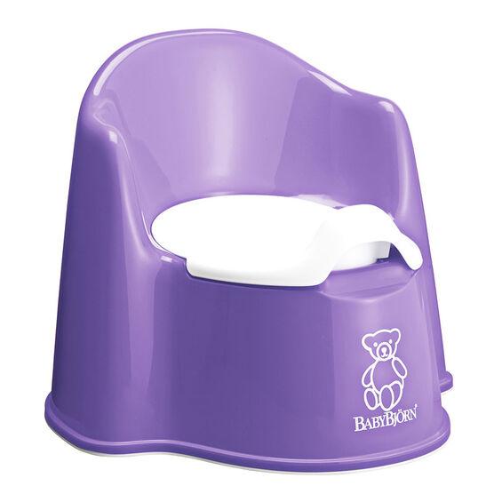 BabyBjorn Potty Chair - Purple - 055163US
