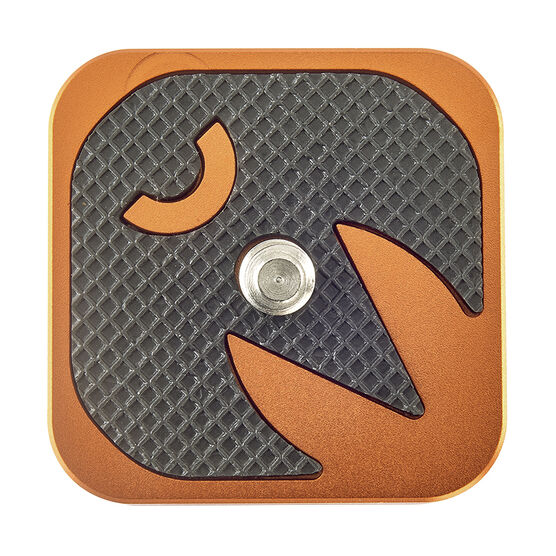 3 Legged Thing QR4 Plate - Orange - QR4
