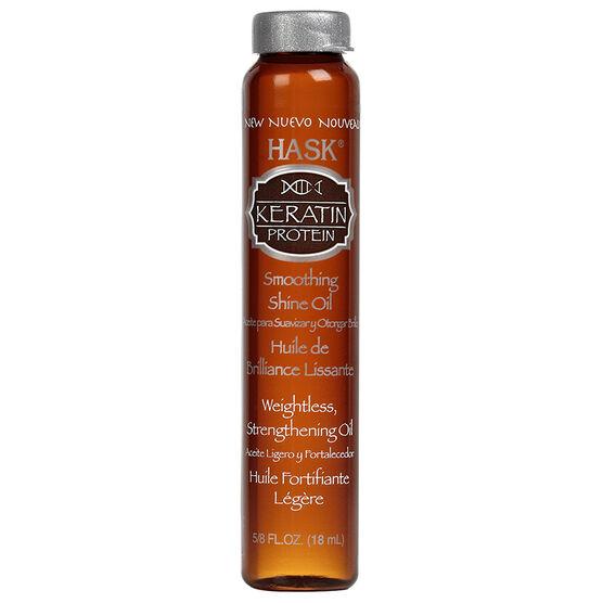 HASK Keratin Protein Smoothing Shine Oil - 18 ml