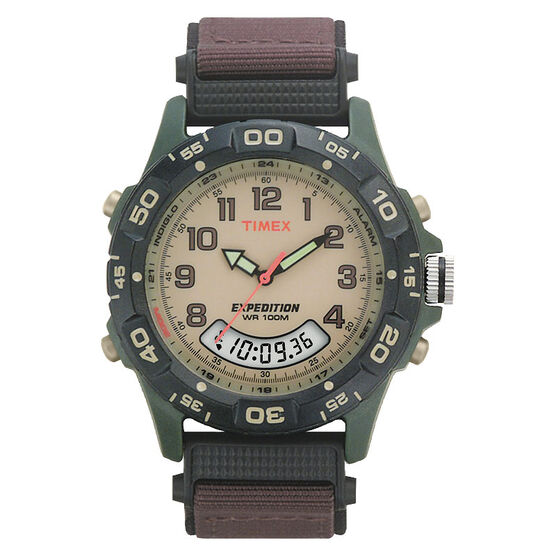 Timex Expedition Combo Watch - Brown/Beige - T45181GP