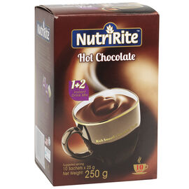 Nutririte Hot Chocolate - 10 x 25g