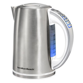 Hamilton Beach Variable Temperature Kettle - White/Stainless - 41023C