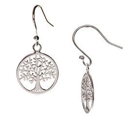 Charisma Sterling Silver Tree Life Earrings