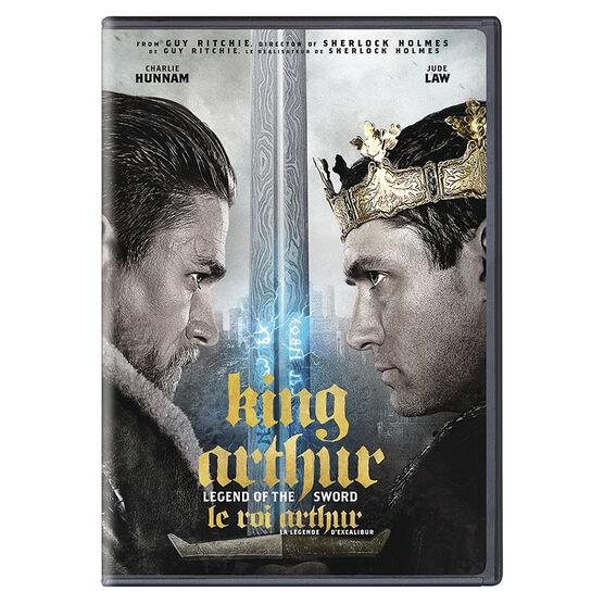 King Arthur: Legend of the Sword - DVD