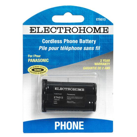 Electrohome Cordless Phone Battery - ETA513