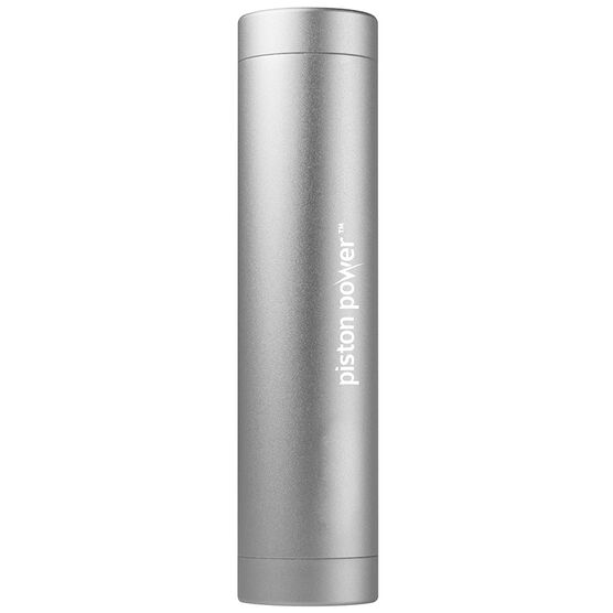 Logiix Piston Power 3400 mAh Portable Battery - Graphite Grey - LGX12113