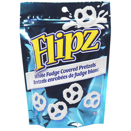Flipz White Fudge Pretzels - 120g