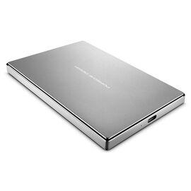 Lacie External Porche Design Harddrive - 1TB - USB-C - Silver - STFD1000402