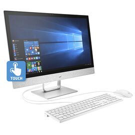HP Pavilion 24-r039 All-in-One Desktop Computer - 24 Inch - AMD A12 - 2HJ69AA#ABL