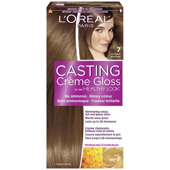 L Oreal Casting Creme Colour 7 Dark Blonde London Drugs