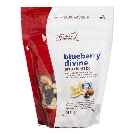 London Gourmet Snack Mix - Blueberry Divine - 300g
