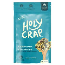 Holy Crap Breakfast Cereal - Blueberry Apple - 225g