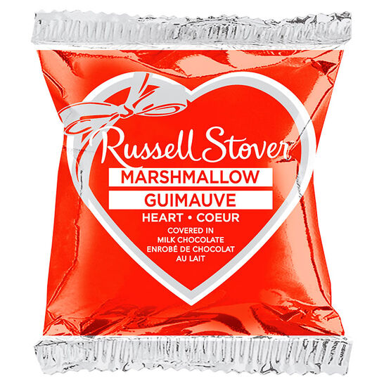 Russell stover marshmallow heart bar 28g london drugs for Food bar russell