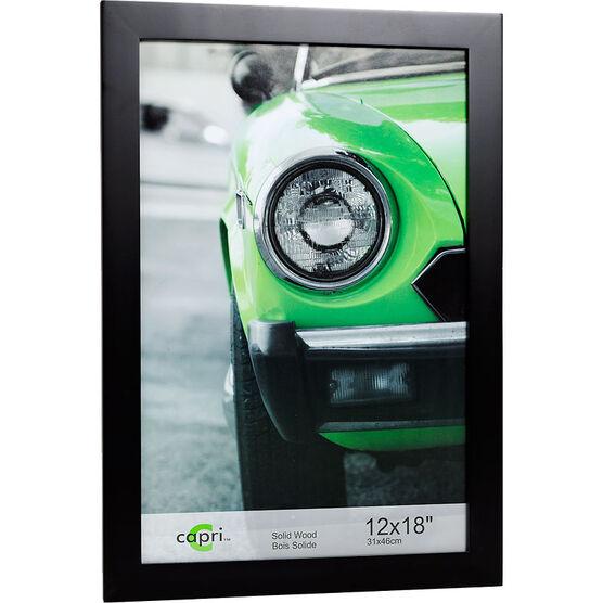 KG Langford 12x18 Black Wood Frame