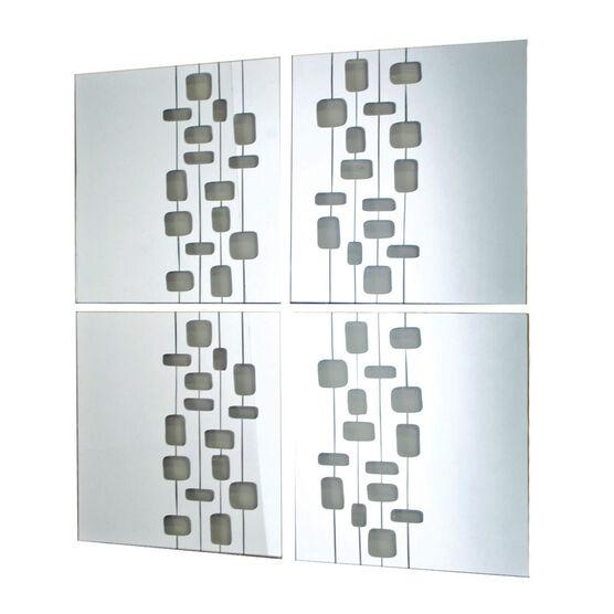 Mosaic Set - Lines - Set of 4