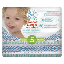 The Honest Company Honest Diapers - Size 5 - 25s - Tribal Print