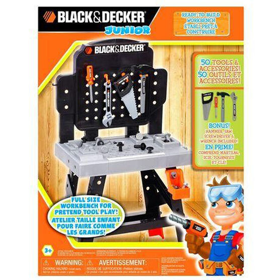 Black & Decker Jr. Workbench - 50 piece