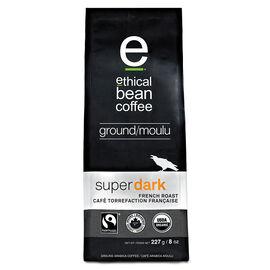 Ethical Bean - Super Dark French Roast - Ground Coffee - 227g